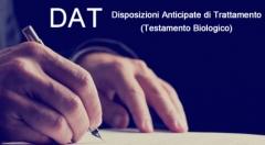 Disposizioni anticipate di trattamento – D.A.T. (Testamento Biologico)